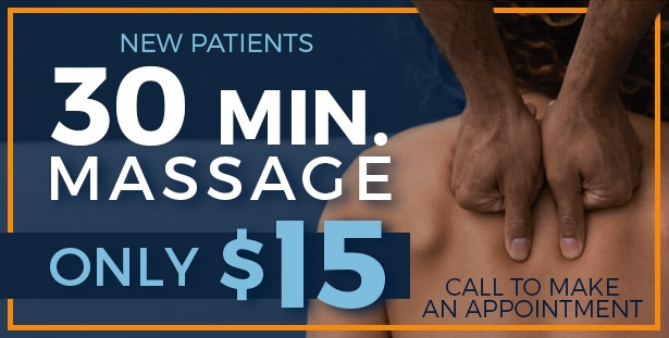 30 min massage coupon for Absolute Pain Relief new patients