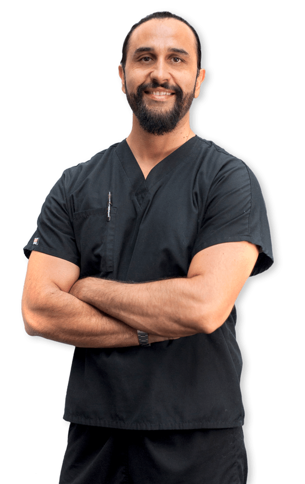 Dr. Karbassy, chiropractor at Absolute Pain Relief