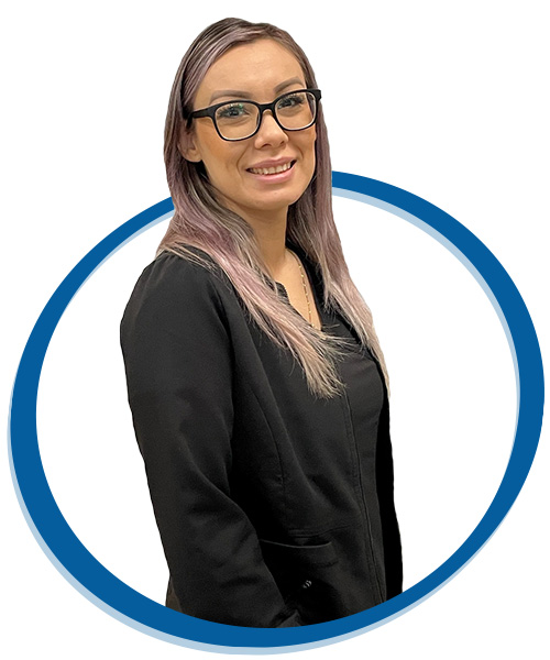 Bianca Corona, Medical Assistant for chiropractor treatment team